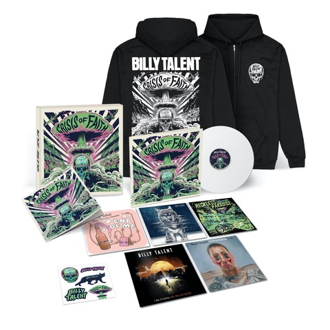 Crisis of Faith (Ltd. Deluxe Vinyl Boxset + Hoodie) by Billy Talent - Deluxe LP Box + Hoodie - shop now at Billy Talent store
