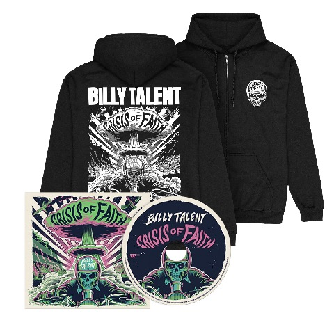 Crisis of Faith (CD + Hoodie) by Billy Talent - CD + Hoodie - shop now at Billy Talent store
