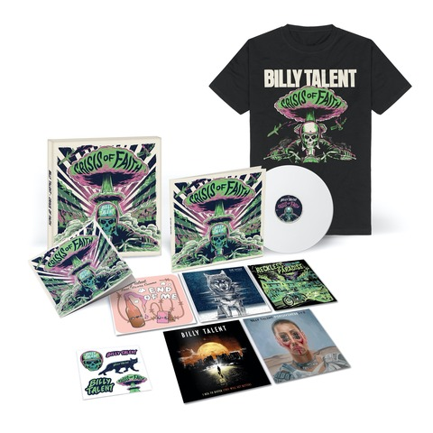 Crisis of Faith (Ltd. Deluxe Vinyl Boxset + T-Shirt) by Billy Talent - Deluxe LP Box + Shirt - shop now at Billy Talent store