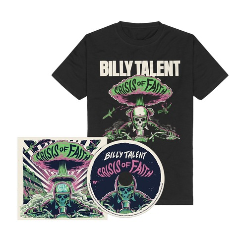 Crisis of Faith (CD + T-Shirt) by Billy Talent - CD + T-Shirt - shop now at Billy Talent store