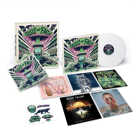 Crisis of Faith (Ltd. Deluxe Vinyl Boxset) by Billy Talent - LP Boxset - shop now at Billy Talent store
