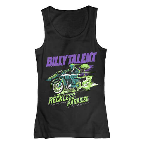 √Reckless Paradise von Billy Talent - Tank Top jetzt im Billy Talent Shop