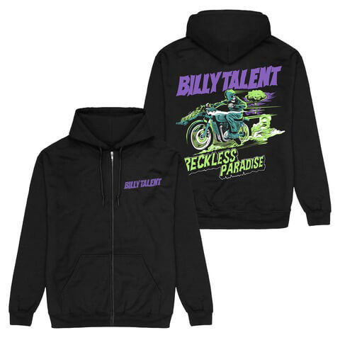 √Reckless Paradise von Billy Talent - Hooded jacket jetzt im Billy Talent Shop