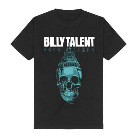 √Skull von Billy Talent - T-Shirt jetzt im Billy Talent Shop
