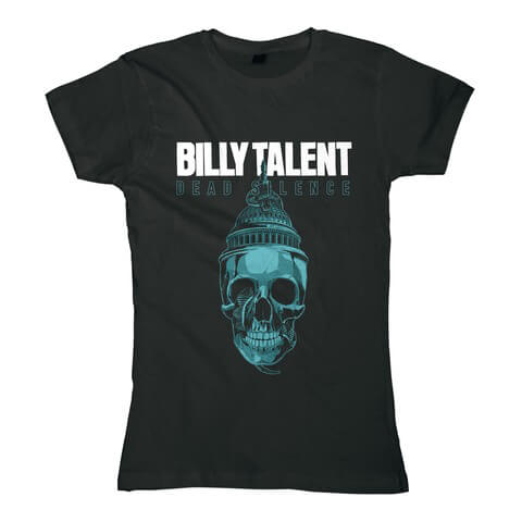 √Skull von Billy Talent - Girlie Shirt jetzt im Billy Talent Shop