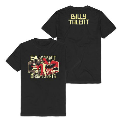 √Afraid Of Heights von Billy Talent - T-Shirt jetzt im Billy Talent Shop