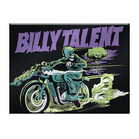 √Reckless Paradise von Billy Talent - Refrigerator magnet jetzt im Billy Talent Shop