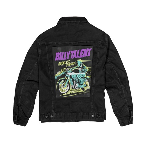 √Back Patch von Billy Talent -  jetzt im Billy Talent Shop