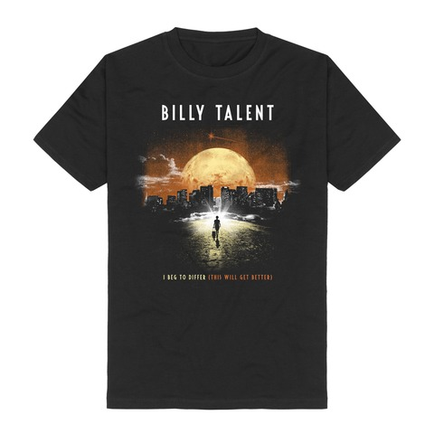 √I Beg To Differ von Billy Talent - T-Shirt jetzt im Billy Talent Shop