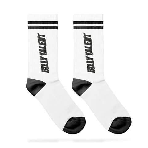 √Skater Socks von Billy Talent - Socks jetzt im Billy Talent Shop