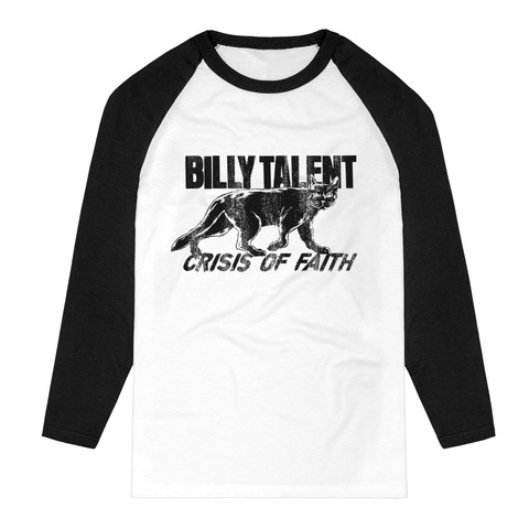 Logo Cat by Billy Talent - Raglan long-sleeve - shop now at Billy Talent store
