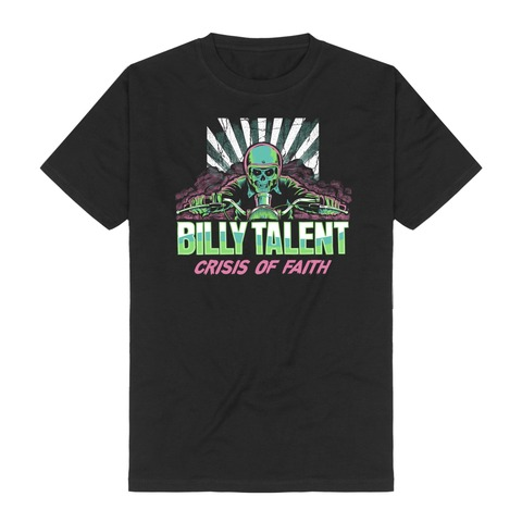 Race Skull by Billy Talent - t-shirt - shop now at Billy Talent store