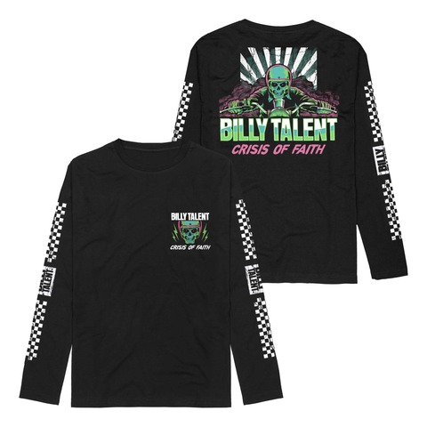 Race Skull by Billy Talent - Longsleeve - shop now at Billy Talent store