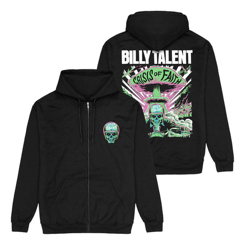 Skull Logo by Billy Talent - Hooded jacket - shop now at Billy Talent store